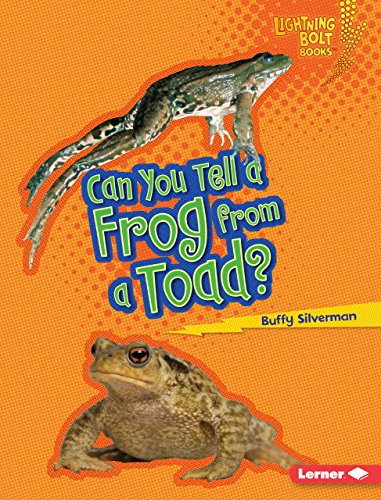 Can You Tell a Frog from a Toad? (Lightning Bolt Books): Buffy Silverman