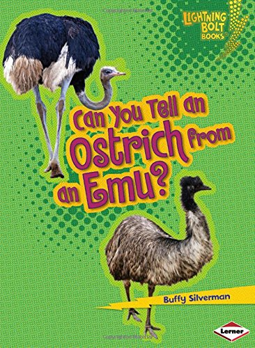9780761367413: Can You Tell an Ostrich from an Emu? (Lightning Bolt Books: Animal Look-Alikes)