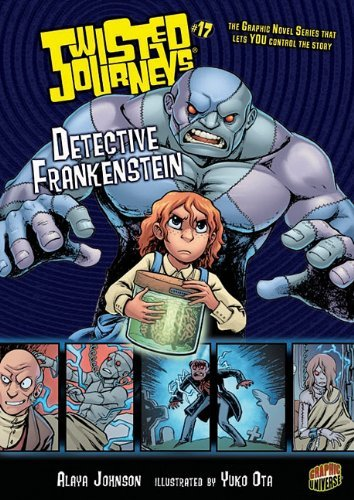 9780761370086: Detective Frankenstein (Twisted Journeys)