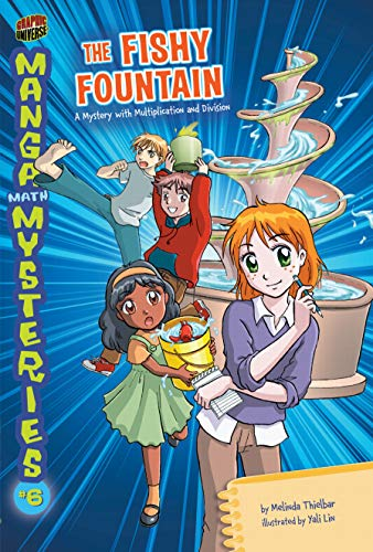 9780761381358: The Fishy Fountain: A Mystery with Multiplication and Division (Manga Math Mysteries)