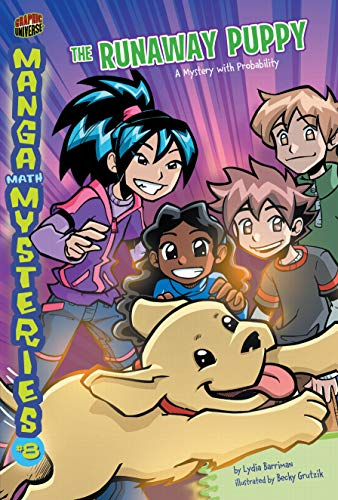 9780761381372: Manga Math Mysteries 8: The Runaway Puppy A Mystery With Probability