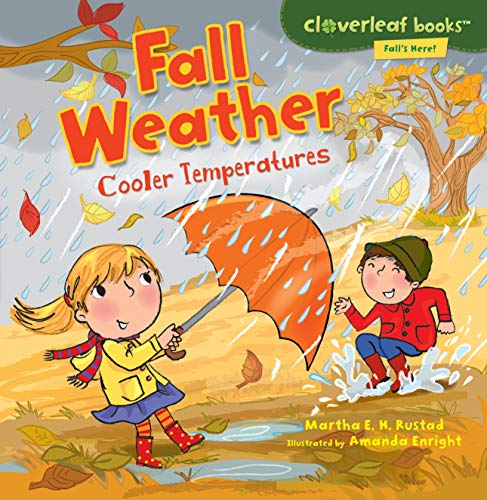 9780761385103: Fall Weather: Cooler Temperatures (Cloverleaf Books: Fall's Here!)