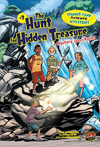 9780761385455: The Hunt for Hidden Treasure: A Mystery about Rocks (Summer Camp Science Mysteries)