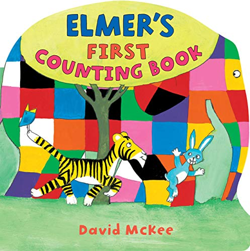 9780761389996: Elmer's First Counting Book (Andersen Press Picture Books)