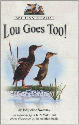 9780761409212: Lou Goes Too! (We Can Read!)