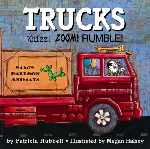 9780761451242: Trucks: Whizz! Zoom! Rumble!