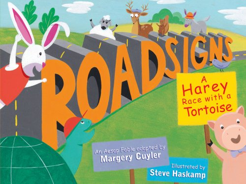 9780761453062: Roadsigns: A Harey Race with a Tortoise