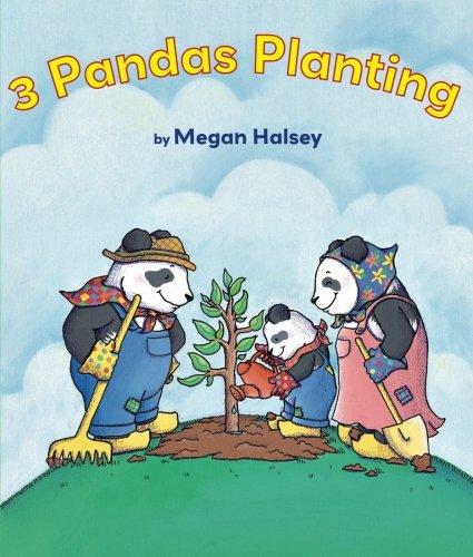 9780761458449: 3 Pandas Planting