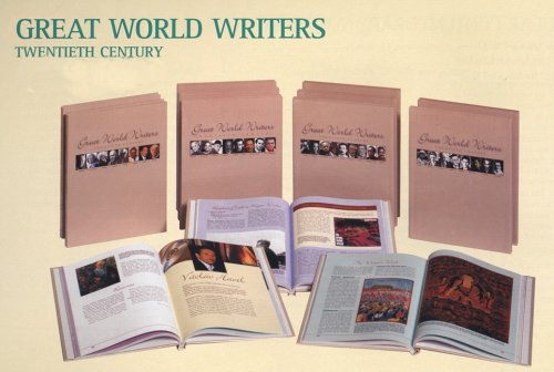 great american writers twentieth century book