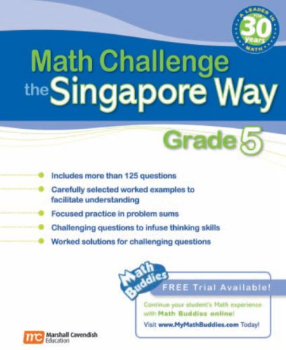 9780761480310: Math Challenge the Singapore Way: Grade 5