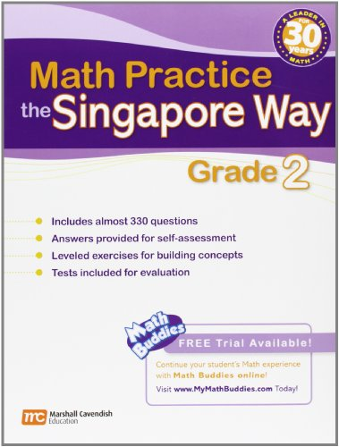 9780761480341: Singapore Math Practice: Grade 2 (Math Practice the Singapore Way)