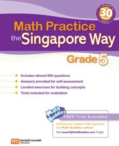 9780761480372: Math Practice the Singapore Way: Grade 5