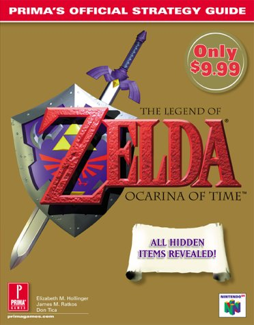 9780761509202: The Legend of Zelda: Ocarina of Time: Prima's Official Strategy Guide