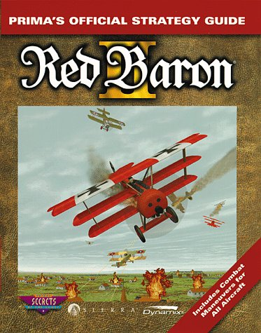 9780761509486: Red Baron II: The Official Strategy Guide (Secrets of the Games Series)