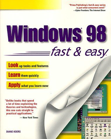 9780761510062: Windows 98 Fast & Easy