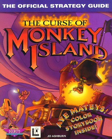 9780761510314: The Curse of Monkey Island: The Official Strategy Guide