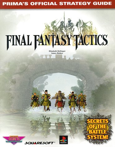 9780761512462: Final Fantasy Tactics (Prima's Official Strategy Guide)