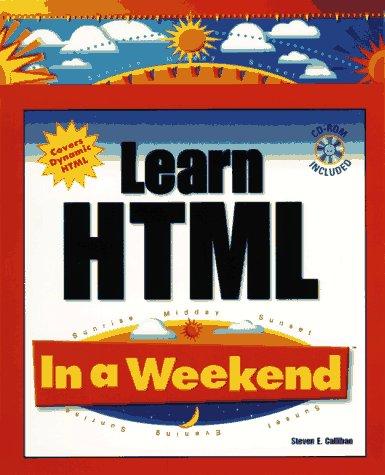 9780761512936: Learn HTML in a Weekend