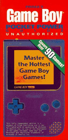 9780761513025: Game Boy Pocket Power Guide - Unauthorized