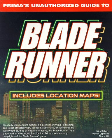 9780761513032: Blade Runner Strategy Guide (Secrets of the Games Series)
