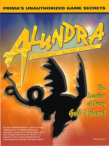 9780761513209: Alundra: Unauthorized Game Secrets