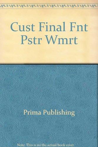 9780761515227: Cust Final Fnt Pstr Wmrt