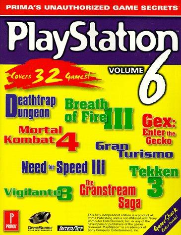 9780761516439: PlayStation Game Secrets Volume 6: Prima's Unauthorized Game Secrets