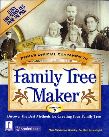 9780761516774: Prima's Official Companion to Family Tree Maker 5