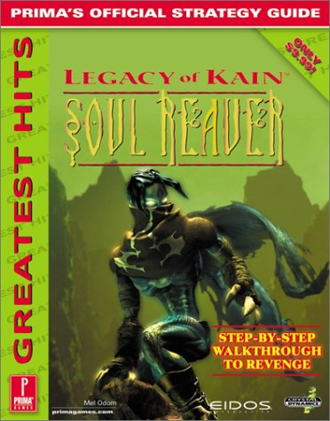 9780761517962: Legacy of Kain: Soul Reaver: Prima's Official Strategy Guide