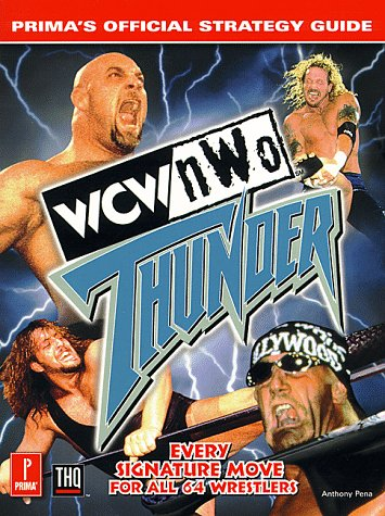 9780761518631: WCW/NWO Thunder (Prima's Official Strategy Guide)