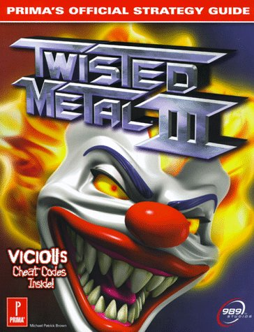 9780761518662: Twisted Metal 3: Prima's Official Strategy Guide