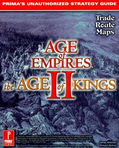 9780761519065: Age of Empires II: The Age of Kings : Prima's Unauthorized Strategy Guide