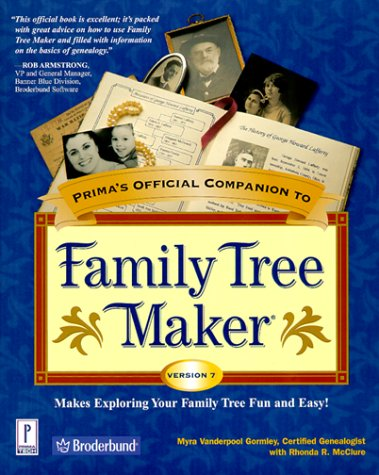 9780761521051: Prima's Official Companion to Family Tree Maker Version 7