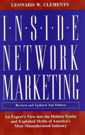 9780761521761: Inside Network Marketing