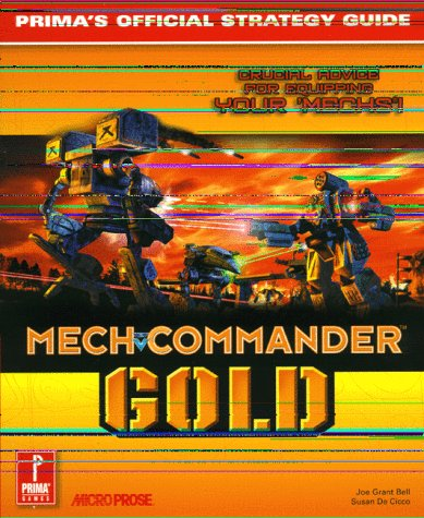 9780761522270: MechCommander Gold (Prima's Official Strategy Guide)