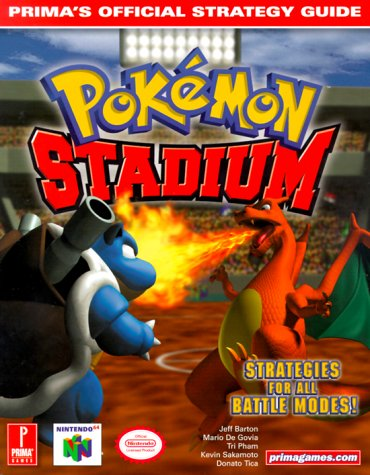 Pokemon Stadium 9780761522782 Become Master of the Stadium. · In-depth battle tactics · Stats for every Pokémon–from Bulbasaur to Mew · Every exclusive secret revealed · Strategies for each battle mode and minigame · Complete Pokédex featuring all 151 Pokémon · Comprehensive skills list