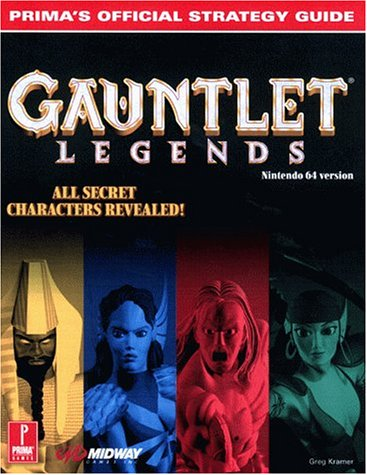 9780761523277: Gauntlet Legends: Prima's Official Strategy Guide