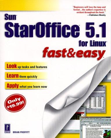 9780761524472: Sun StarOffice 5.1 Fast & Easy