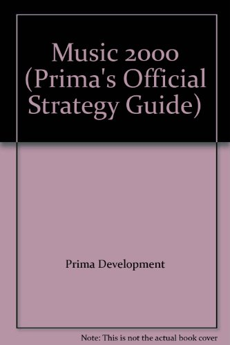 9780761524885: Music 2000: Official Strategy Guide (Prima's official strategy guide)
