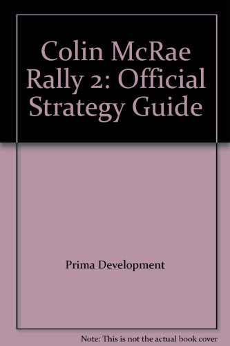 9780761524915: Colin McRae Rally 2: Official Strategy Guide