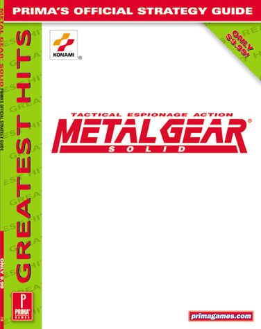 9780761525011: Metal Gear Solid: Official Strategy Guide