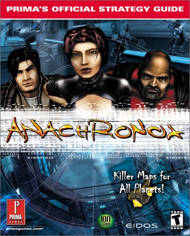 9780761526094: Anachronox (Prima's Official Strategy Guide)