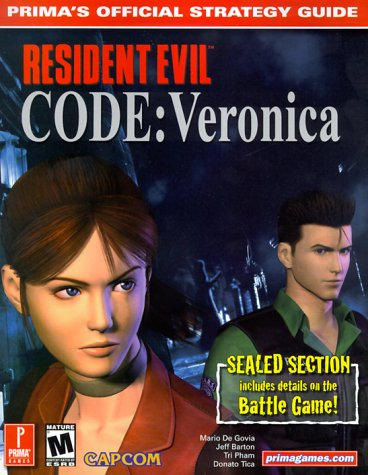 9780761527688: Resident Evil Code: Veronica (Prima's Official Strategy Guide)