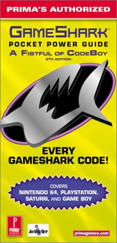 9780761527831: GameShark Pocket Power Guide : A Fistful of CodeBoy (Prima's Authorized 6th Edition)
