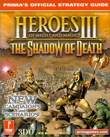 9780761528401: Heroes of Might and Magic 3: The Shadow of Death
