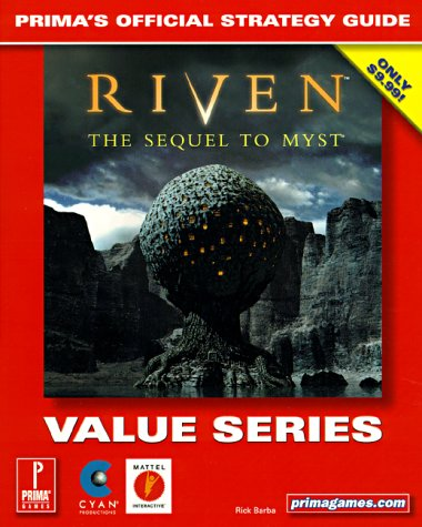 9780761528975: Riven: The Sequel to Myst : The Official Strategy Guide