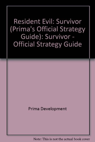 9780761529279: Resident Evil Survivor: Prima's Official Strategy Guide