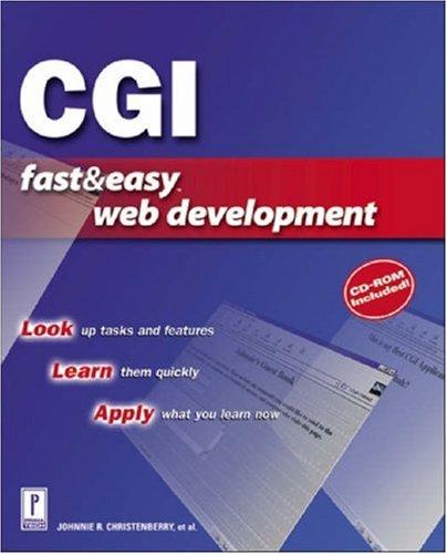 9780761529385: CGI Fast and Easy Web Development (Fast & Easy Web Development)