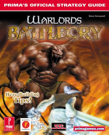 9780761530206: Warlords Battlecry (Prima's Official Strategy Guide)