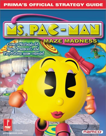 9780761530466: Ms. Pac-Man Maze Madness : Prima's Official Strategy Guide